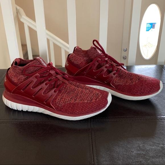 "huge sale best wholesaler how to buy Adidas Tubular Nova PK ""Mystery Red"""